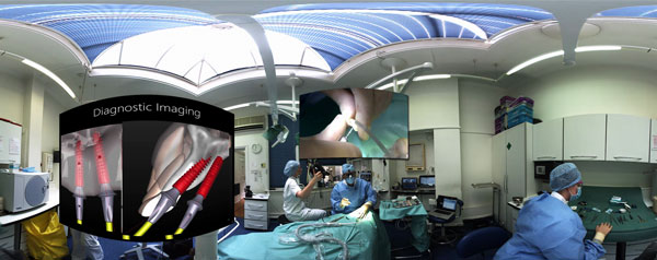 360 VR surgery expanded image
